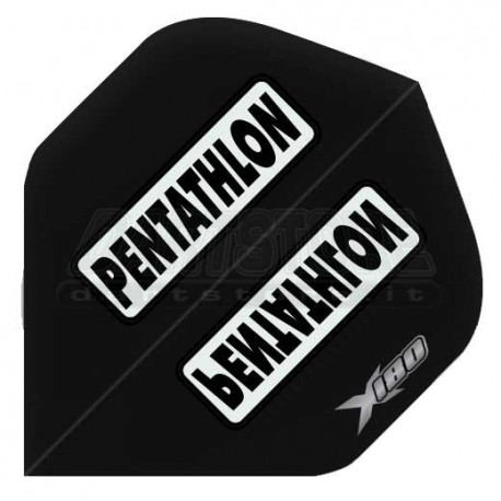 Alette per freccette PenTathlon X180 - Nere Pentathlon