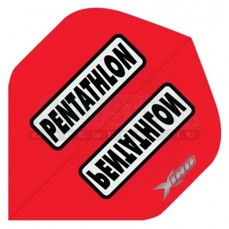 Alette per freccette PenTathlon X180 - Rosse Pentathlon