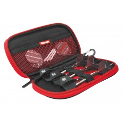 Astuccio per freccette Harrows Z400 - Rosso Harrows Darts