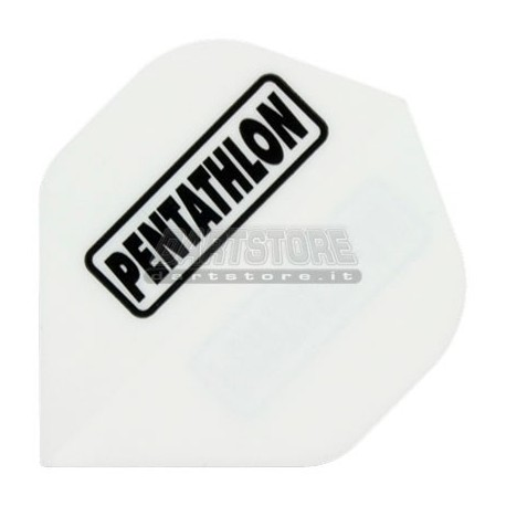 Alette per freccette PenTathlon - Bianche Pentathlon