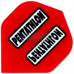 Alette per freccette PenTathlon - Rosse Pentathlon