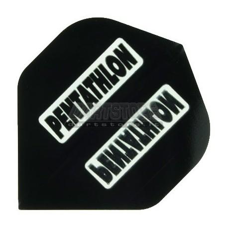 Alette per freccette PenTathlon - Nere Pentathlon