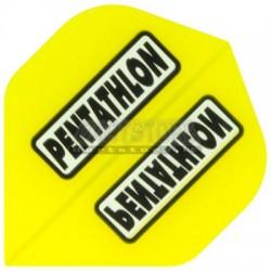 Alette per freccette PenTathlon - Gialle trasparenti Pentathlon