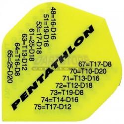PenTathlon - Giallo fluo con chiusure