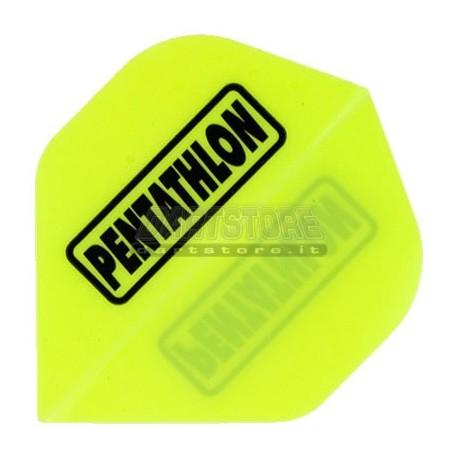 Alette per freccette PenTathlon - Gialle fluo Pentathlon