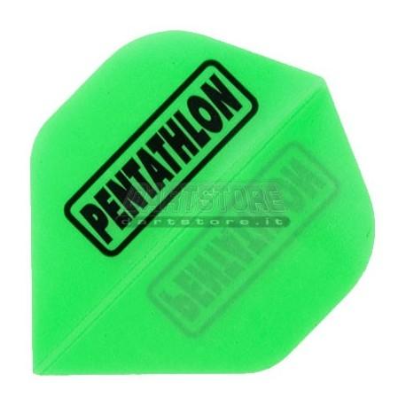 Alette per freccette PenTathlon - Verdi fluo Pentathlon