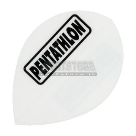 Alette per freccette PenTathlon Pear - Bianche Pentathlon