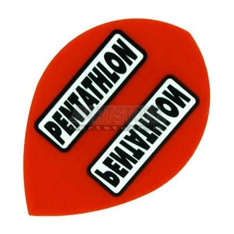 Alette per freccette PenTathlon Pear - Rosse Pentathlon