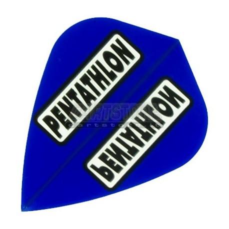 Alette per freccette PenTathlon Kite - Blu Pentathlon