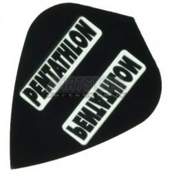 Alette per freccette PenTathlon Kite - Nere Pentathlon