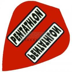 Alette per freccette PenTathlon Kite - Rosse Pentathlon