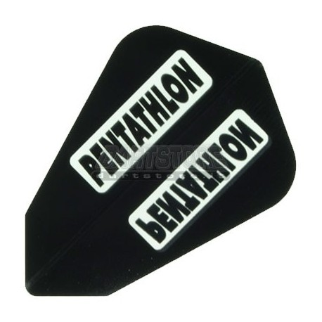 Alette per freccette PenTathlon Lantern - Nere Pentathlon