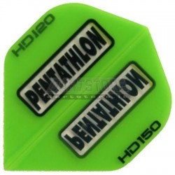Alette per freccette PenTathlon HD150 - Verdi Pentathlon