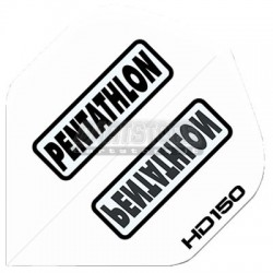Alette per freccette PenTathlon HD150 - Bianche Pentathlon