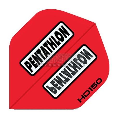 Alette per freccette PenTathlon HD150 - Rosse Pentathlon