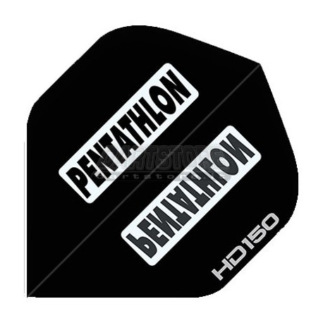 Alette per freccette PenTathlon HD150 - Nere Pentathlon