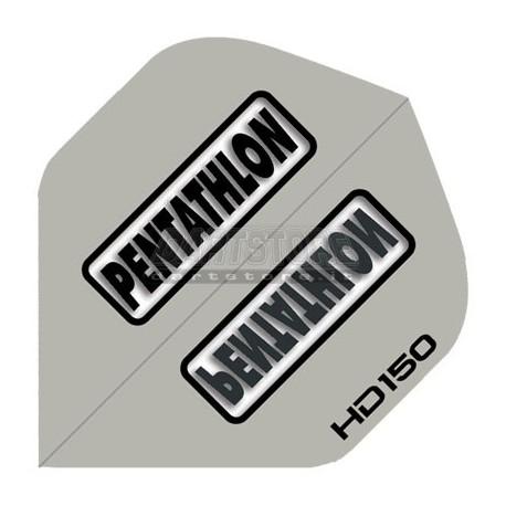 Alette per freccette PenTathlon HD150 - Argento Pentathlon