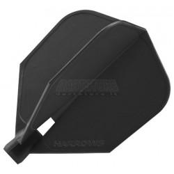 Alette per freccette Alette Clic Standard - nere Harrows Darts