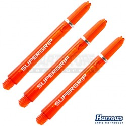 Astine per freccette Nylon Supergrip - CORTI - Arancio Harrows Darts