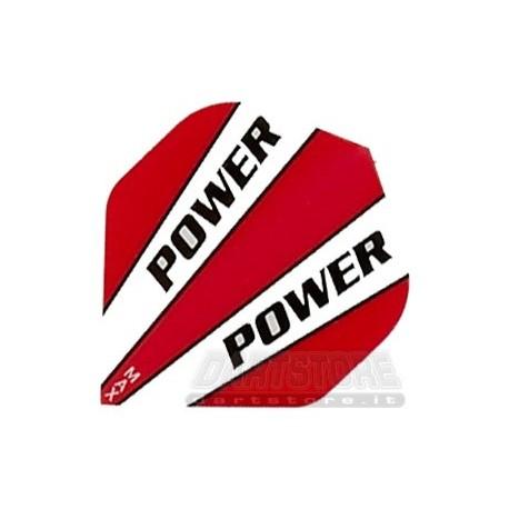 Alette per freccette Maxpower HD150 - Bianche/Rosse DartStore.it