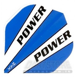 Alette per freccette Maxpower HD150 - Bianche/Blu DartStore.it