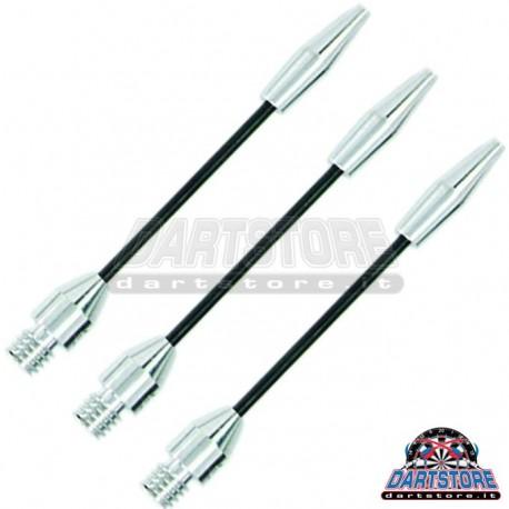 Astine per freccette Steel Wire - MEDI - Argento DartStore.it