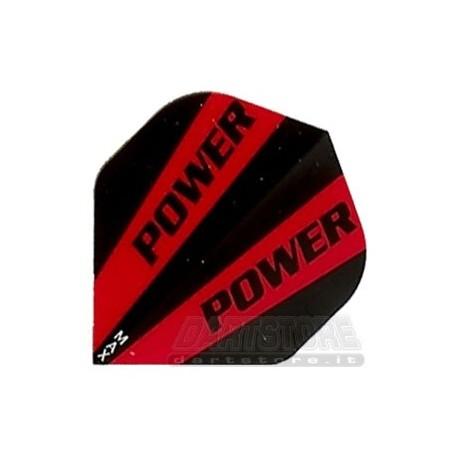Alette per freccette Maxpower HD150 - Rosse/Nere DartStore.it