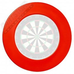 Accessori per bersagli freccette Dartboard Surround - Rosso Nodor Darts