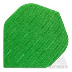 Alette per freccette Nylon - Verdi fluo Pentathlon