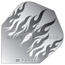Alette per freccette Target Fiamma - Trasparente Target Darts