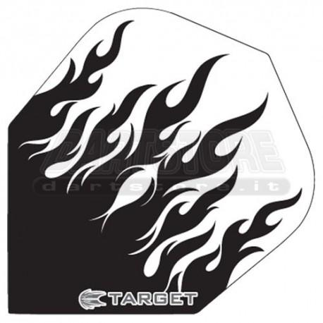 Alette per freccette Target Fiamma - Nere Target Darts