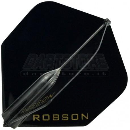 Alette per freccette Robson Plus Standard - nere Bull's Darts