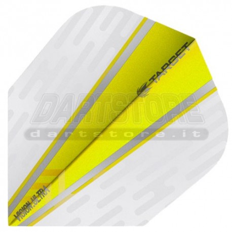 Alette per freccette Target Vision Ultra Wing - Gialle Target Darts