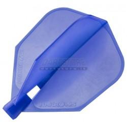 Alette per freccette Alette Clic Standard - blu Harrows Darts
