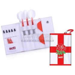Astuccio per freccette Happy Dart Wallet - Roses One80 Darts