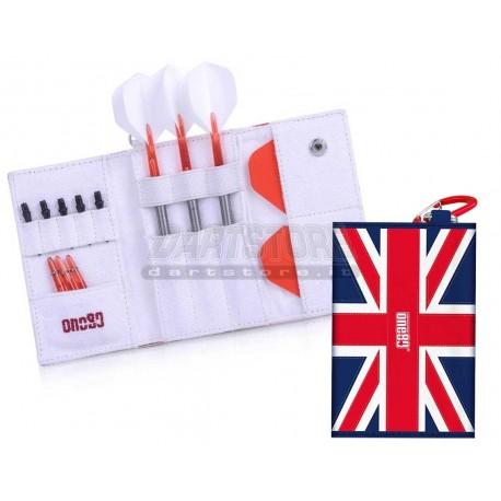 Astuccio per freccette Happy Dart Wallet - UK One80 Darts