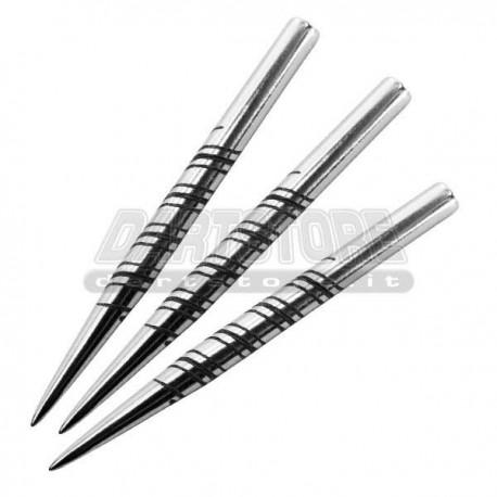 Punte in acciaio SPIRAL-CUT - 32 mm Harrows Darts per freccette steel darts