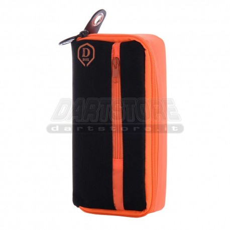 Astuccio per freccette D-Box Mini - arancio One80 Darts