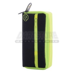 Astuccio per freccette D-Box Mini - giallo One80 Darts