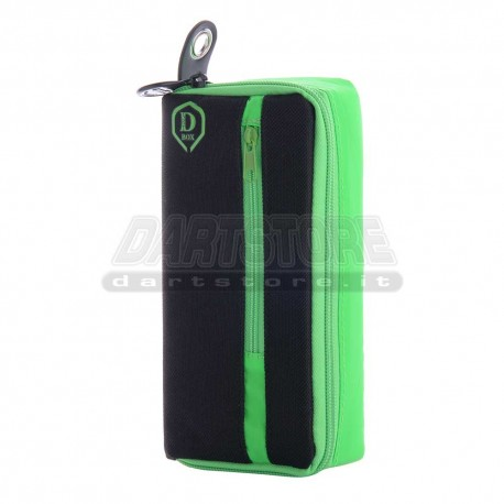 Astuccio per freccette D-Box Mini - verde One80 Darts