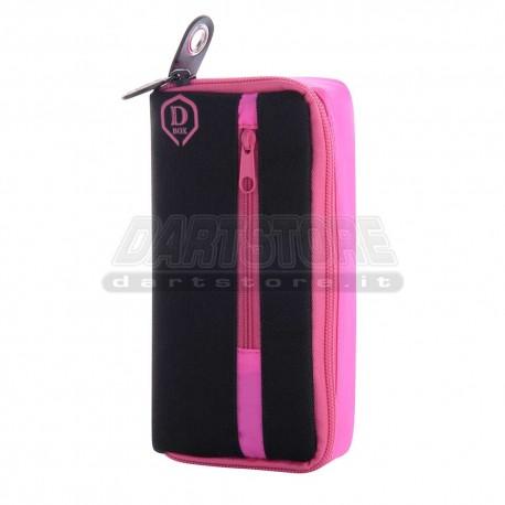 Astuccio per freccette D-Box Mini - rosa One80 Darts