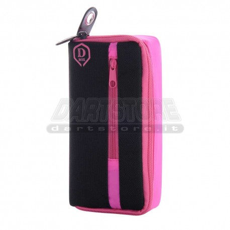 Astuccio per freccette D-Box Mini - rosa One80 Darts