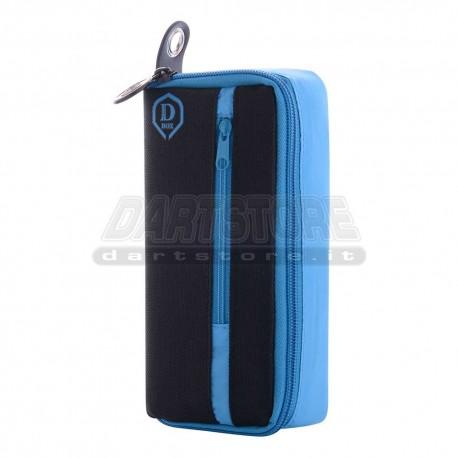 Astuccio per freccette D-Box Mini - blu One80 Darts