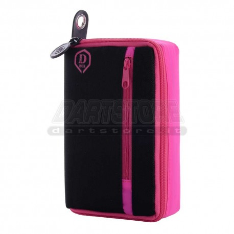 Astuccio per freccette D-Box - rosa One80 Darts