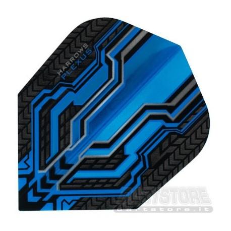 Alette per freccette Plexus - Blu Harrows Darts