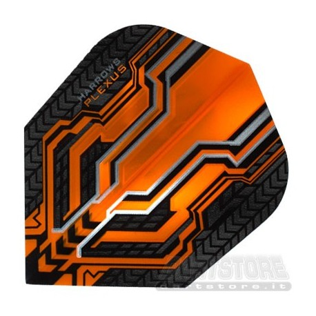 Alette per freccette Plexus - Arancio Harrows Darts