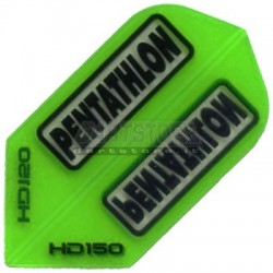 Alette per freccette PenTathlon Slim HD150 - Verdi Pentathlon