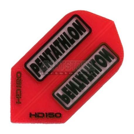 Alette per freccette PenTathlon Slim HD150 - Rosse Pentathlon