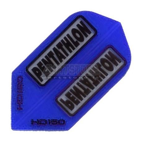 Alette per freccette PenTathlon Slim HD150 - Blu Pentathlon
