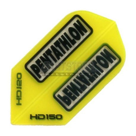 Alette per freccette PenTathlon Slim HD150 - Gialle Pentathlon